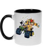 Mugs  parodique Bowser : Kart Fighter - Player 5 (Parodie )