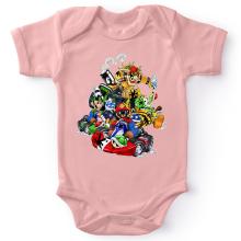 Body bébé (Filles)  parodique Mario, Luigi, Yoshi et Bowser : Kart Fighter Racing (Parodie )
