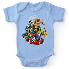Bodys  parodique Mario, Luigi, Yoshi et Bowser : Kart Fighter Racing (Parodie )