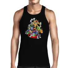 Débardeurs  parodique Mario, Luigi, Yoshi et Bowser : Kart Fighter Racing (Parodie )