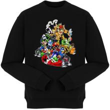 Pulls  parodique Mario, Luigi, Yoshi et Bowser : Kart Fighter Racing (Parodie )