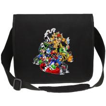 Sacs bandoulière Canvas  parodique Mario, Luigi, Yoshi et Bowser : Kart Fighter Racing (Parodie )