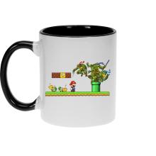 Mugs  parodique Donatello,Leonardo,Raphael, Michelangelo et Mario : La Revanche des Tortues ! (Parodie )