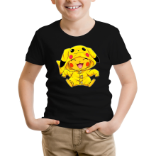 T-shirt Enfant  parodique Pikachu : Le Cosplayer ultime !! (Parodie )