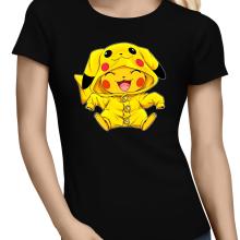T-shirts Femmes  parodique Pikachu : Le Cosplayer ultime !! (Parodie )