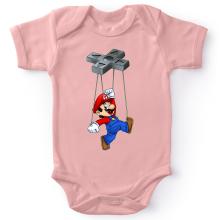 Body bébé (Filles)  parodique Mario : Mario-nette ON (Parodie )
