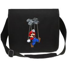 Sac bandoulière Canvas  parodique Mario : Mario-nette ON (Parodie )