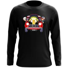 T-Shirt à manches longues  parodique Pikachu, Sasha et Aurore : Pika dépannage (Parodie )