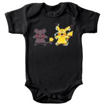 Body bébé  parodique Pikachu mode Super Saiyan : Super Sourijin !! (Parodie )