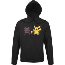 Sweats à capuche  parodique Pikachu mode Super Saiyan : Super Sourijin !! (Parodie )