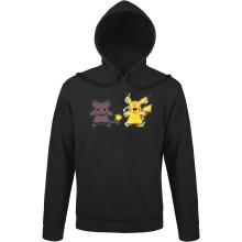 Sweat à capuche  parodique Pikachu mode Super Saiyan : Super Sourijin !! (Parodie )