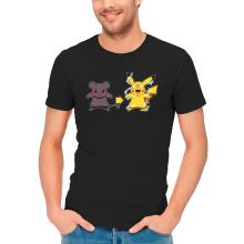 T-shirts  parodique Pikachu mode Super Saiyan : Super Sourijin !! (Parodie )