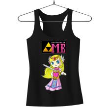 Débardeur Femme  parodique La Princesse Zelda : The Legend of...ME ! (Parodie )