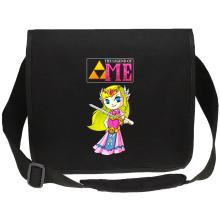 Sac bandoulière Canvas  parodique La Princesse Zelda : The Legend of...ME ! (Parodie )