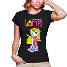 T-shirts Femmes  parodique La Princesse Zelda : The Legend of...ME ! (Parodie )