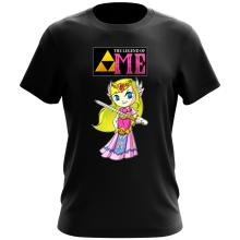 T-shirt  parodique La Princesse Zelda : The Legend of...ME ! (Parodie )