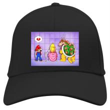 Casquette  parodique Super Mario, Princesse Peach et Bowser : Un coeur brisé ! (Parodie )
