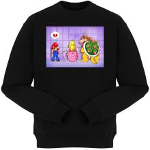 Pulls  parodique Super Mario, Princesse Peach et Bowser : Un coeur brisé ! (Parodie )