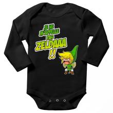 Body bébé manches longues  parodique Link : Un Coup de gueule de héros... (Parodie )