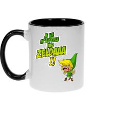 Mug  parodique Link : Un Coup de gueule de héros... (Parodie )
