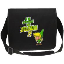 Sac bandoulière Canvas  parodique Link : Un Coup de gueule de héros... (Parodie )