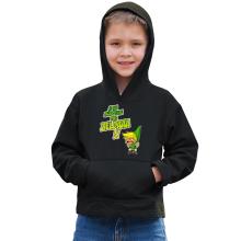 Sweat à capuche Enfant  parodique Link : Un Coup de gueule de héros... (Parodie )