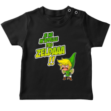 T-shirt bébé  parodique Link : Un Coup de gueule de héros... (Parodie )