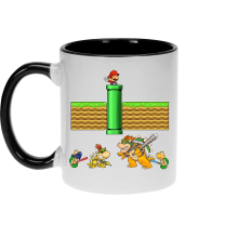 Funny  Mug - Mario, Bowser, Bowser Jr and Koopa Troopa ( Parody) (Ref:469)