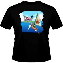 T-shirts  parodique La Kame House et Link : Une île perdue... (Parodie )