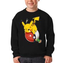 Sweat-shirts  parodique Pikachu et Sasha : VENGEANCE !!! :) (Parodie )