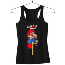 Débardeurs  parodique Mario : - 1 UP !! (Parodie )