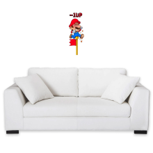 Décorations murales  parodique Mario : - 1 UP !! (Parodie )