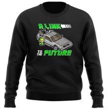 Pull  parodique Link et la Delorean : A Link to the Future ! (Parodie )