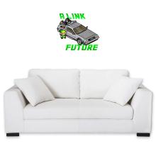Sticker Mural  parodique Link et la Delorean : A Link to the Future ! (Parodie )