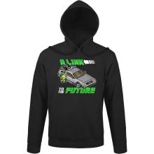 Sweats à capuche  parodique Link et la Delorean : A Link to the Future ! (Parodie )