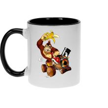 Mug  parodique Donkey Kong : Kart Fighter - Player 4 (Parodie )