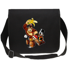 Funny  Canvas Messenger Bag - Donkey Kong ( Parody) (Ref:666)