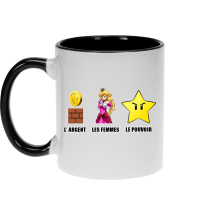 Mugs (French Days)  parodique Princesse Peach et l