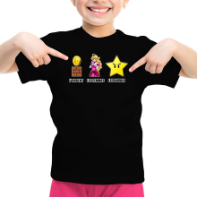 T-shirts (French Days)  parodique Princesse Peach et l