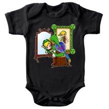 Body bébé  parodique Link : Autoportrait de héros... (Parodie )
