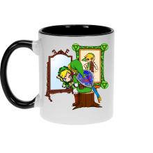 Mugs  parodique Link : Autoportrait de héros... (Parodie )