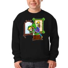 Sweat-shirts  parodique Link : Autoportrait de héros... (Parodie )