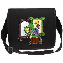 Sacs bandoulière Canvas  parodique Link : Autoportrait de héros... (Parodie )