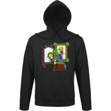 Sweat à capuche  parodique Link : Autoportrait de héros... (Parodie )