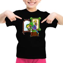 T-shirts  parodique Link : Autoportrait de héros... (Parodie )