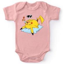 Body bébé (Filles)  parodique Pikachu : Batterie Off - ZZZZ (Parodie )
