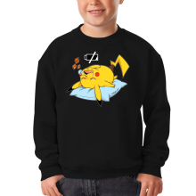 Sweat-shirts  parodique Pikachu : Batterie Off - ZZZZ (Parodie )