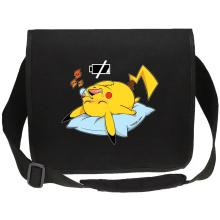 Sacs bandoulière Canvas  parodique Pikachu : Batterie Off - ZZZZ (Parodie )