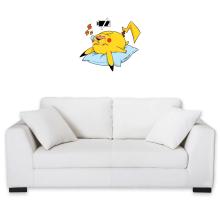 Sticker Mural  parodique Pikachu : Batterie Off - ZZZZ (Parodie )