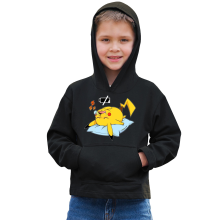 Sweat à capuche (French Days)  parodique Pikachu : Batterie Off - ZZZZ (Parodie )